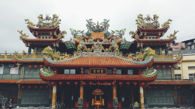 Temple in Jiufen