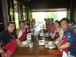 Baipai Cooking School - Group pic!