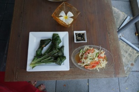 Baipai Cooking School - Appetizers!